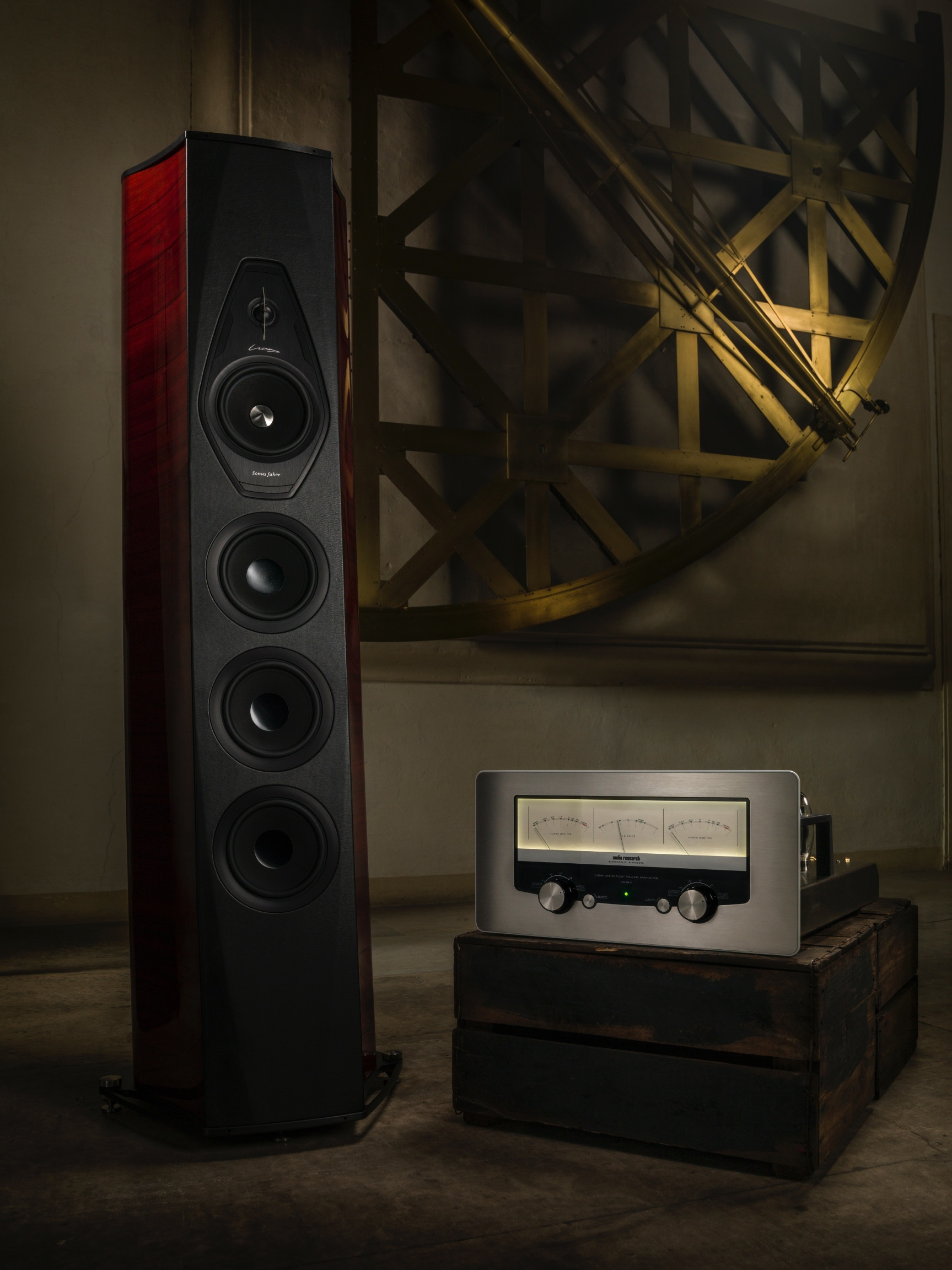 Audio Research GS 150 + Sonus Faber Lilium