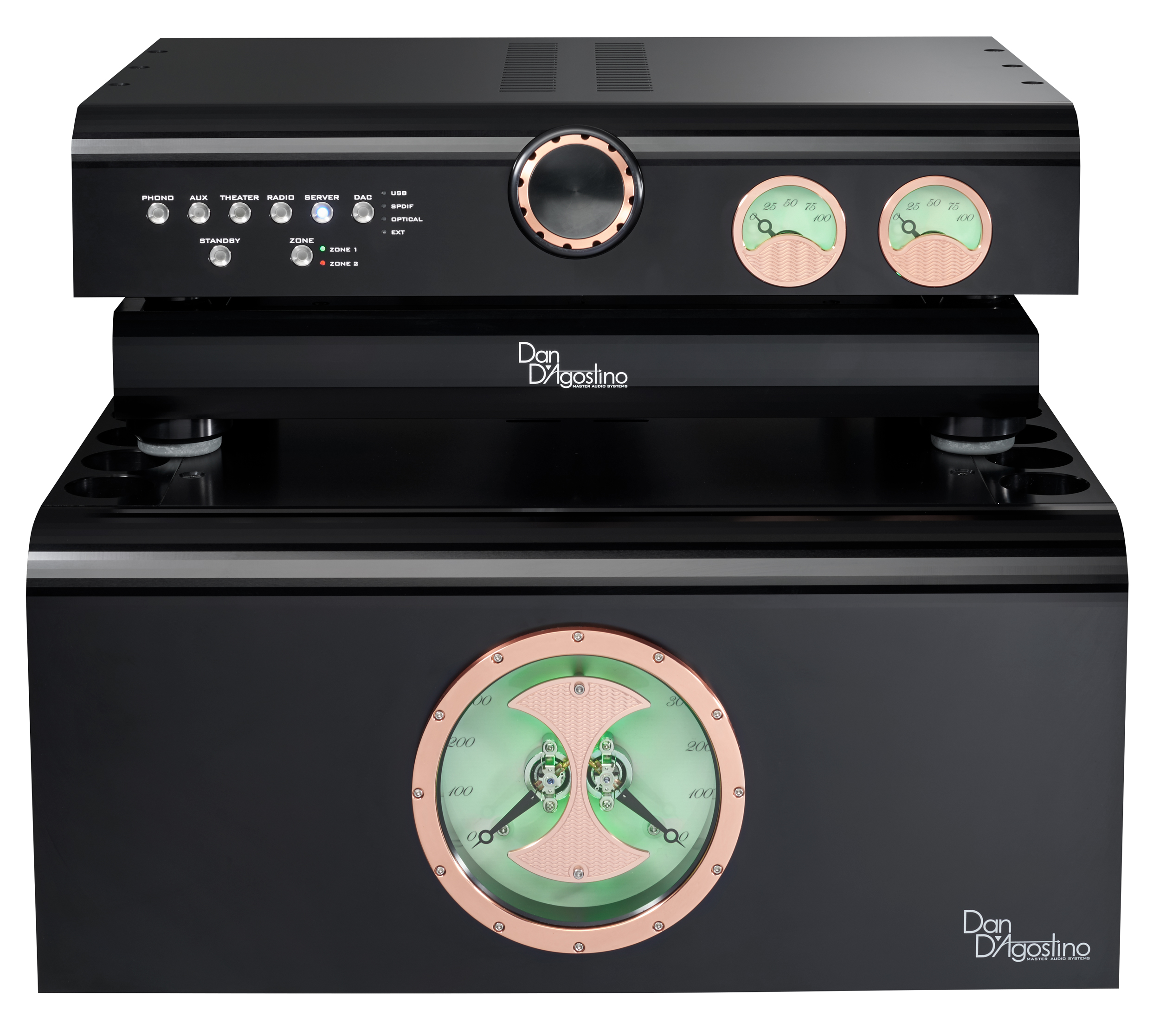Стереоусилитель мощности Dan D'Agostino Progression Stereo Amplifier + Progression Preamplifier