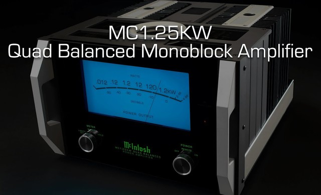 MC1.25KW Quad Balanced Monoblock Amplifier
